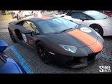Lamborghini Aventador Team88 - Start and Finish of the Lambo Tour
