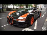 Bugatti Veyron Vitesse WRC - Startup and Loading in London