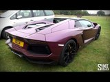 Lamborghini Aventador Roadster in 'Viola Ophelia' - Lambo 50 Tour