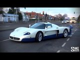 Maserati MC12 Arrives at Romans International - Startup and on the Road