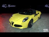 WORLD DEBUT: Alfa Romeo 4C Spider - NAIAS 2015