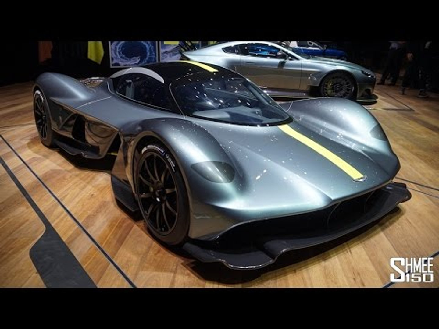 The Aston Martin Valkyrie Has Arrived Video Dailymotion
