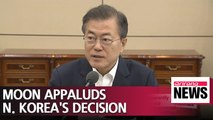 Moon calls N. Korea's latest nuke test site dismantlement decision significant in denuke process
