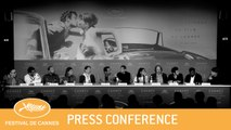 LE GRAND BAIN - CANNES 2018 - PRESS CONFERENCE-  EV