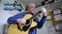 Dan Cunningham - When I'm 64 - acoustic guitar and vocal