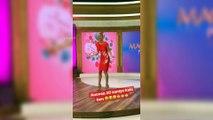 Çağla Şıkel Kanal D'de Stüdyosunda Reklam Arası Oynadı Çok Eğlendi! | Çağla Şıkel