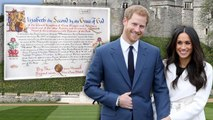 Queen Elizabeth Signs Consent Document for Prince Harry to Wed Meghan Markle
