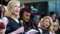 Cate Blanchett et 82 femmes montent les marches pour la parité - Cannes 2018