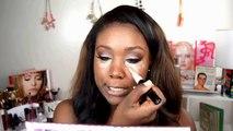 Vampy Makeup Tutorial I Winged Eye Liner, Brown Eyes & Dark Plum Lips