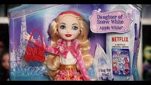 ЧО С ЭПЛ ? :О новые куклы Эвер Афтер Хай Apple White Epic Winter обзор на кукол Эвер Афтер Хай Эпл