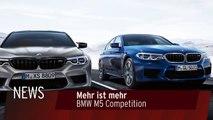 BMW M5 Competition: Mehr Power für den Über-Fünfer - NEWS | auto motor und sport