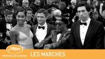 BLACKKKLANSMAN - CANNES 2018 - LES MARCHES - EV