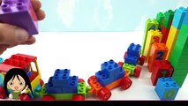 Building Blocks Toys for Children | Learn Colors with Number Toy Train for Children Toddlers Kids