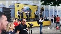 Report TV - Dita ndërkombëtare e Jazz-it, banda italiane performon para qytetarëve të Shkodrës