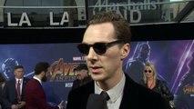 Avengers: Infinity War – World Premiere Benedict Cumberbatch nterview Part #1 – Marvel Studios – Motion Pictures - Walt Disney Studios – Stan Lee – Directed