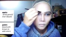 Jack Frost Cosplay Makeup Tutorial (Rise of the Guardians)