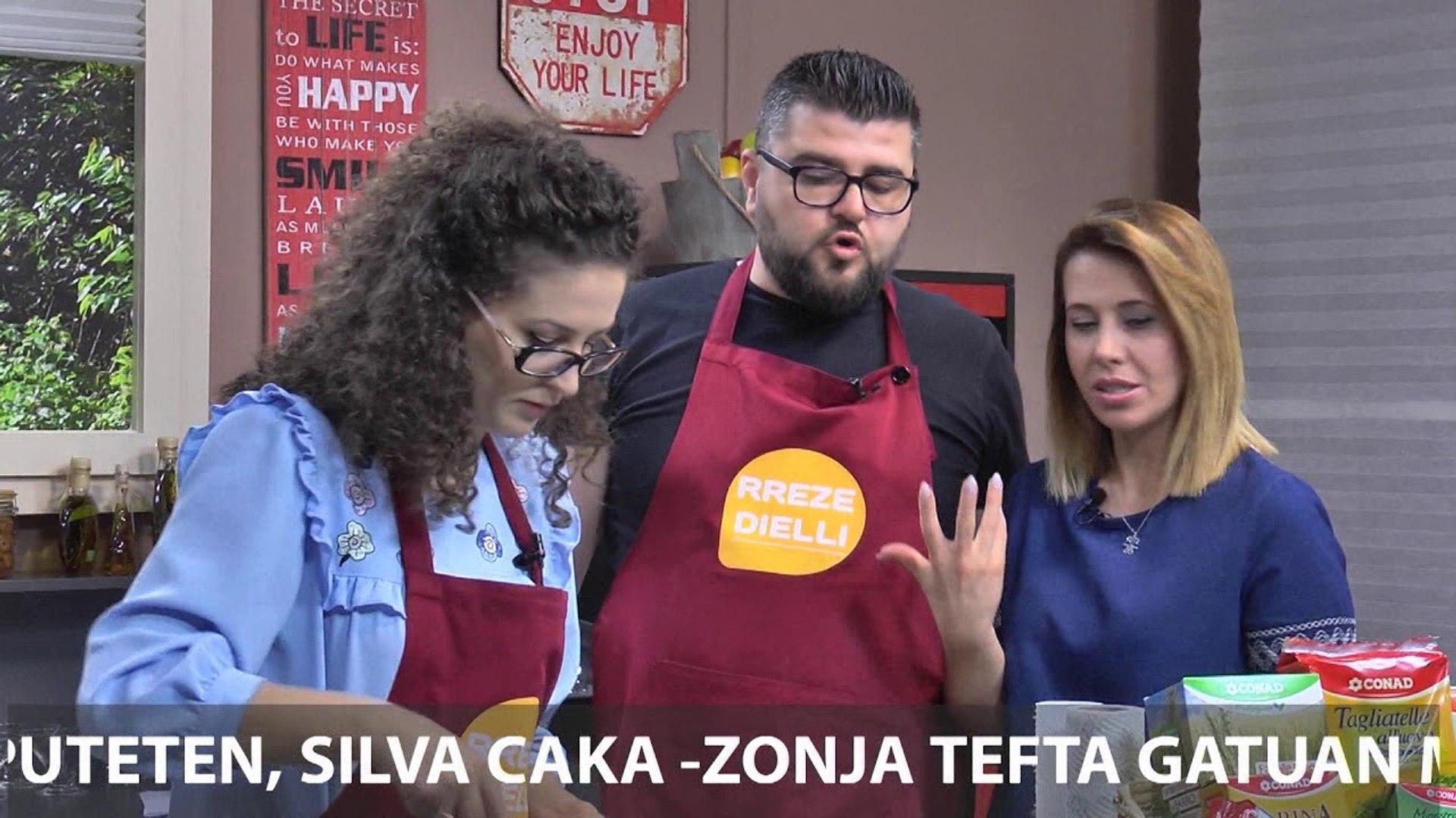 Te gatuajme me Zonjen Tefta PJ2 Supe me domate, Sufle me akullore