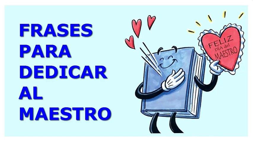 Frases Bonitas Para El Dia Del Maestro Feliz Dia Del