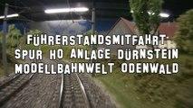 Führerstandsmitfahrt Spur H0 Anlage Dürnstein von Josef Brandl Modellbahnwelt Odenwald - Ein Film von Pennula über digitale Modelleisenbahnen sowie Modellbahnen und Modellbau der Eisenbahn