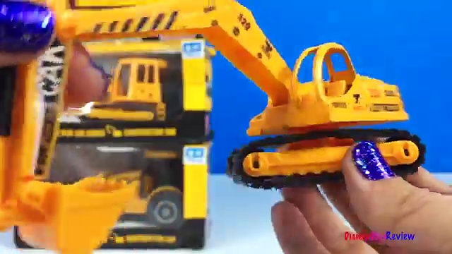 UNBOXING SUPER POWER MIGHTY MACHINES WITH BULLDOZER FORKLIFT WHEELED LOADER EXCAVATOR AT THE JOBSITE