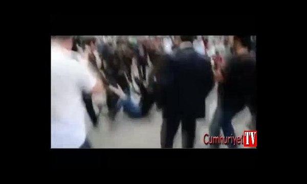 Soma'da tekme anının görüntüsü ortaya çıktı