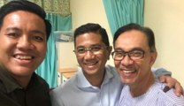 Anwar is quite excited about his release, say PKR reps