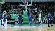 Nanterre92 VS Levallois - Action Replay de Johan Passave-Ducteil