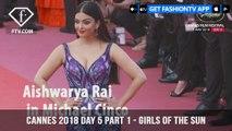 Sara Sampaio on Girls Of The Sun Red Carpet at Cannes Film Festival 2018 Day 5   FashionTV   FTV