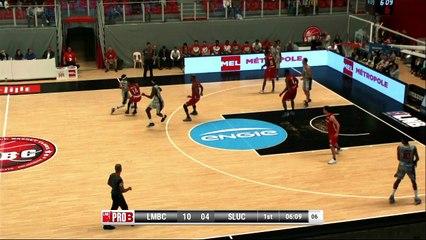Lille - Nancy : les highlights de Rakeem Buckles, MVP du match