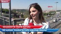 İBB açıkladı, İstanbul'da trafik yoğunluğu düşmüş!