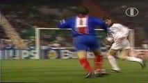 David Ginola ● Skills ● PSG 0-1 AC Milan ● UEFA Champions League Semifinal 1994/95