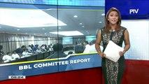 #PTVNEWS: Committee report sa panukalang BBL, inaprubahan ng House joint panel