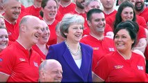 Theresa May unveils 2018 Invictus Games UK team