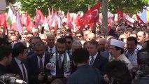 Şehit Filistinliler için Hacı Bayram-ı Veli Camisinde gıyabi cenaze namazı kılındı - ANKARA