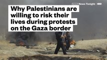 Why Palestinians Are Willing To Risk Their Lives During Protests On The Gaza Border (HBO) - YouTube