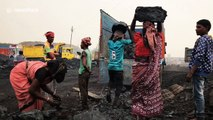 Indian city slowly dying as coal mining keeps underground fires burning