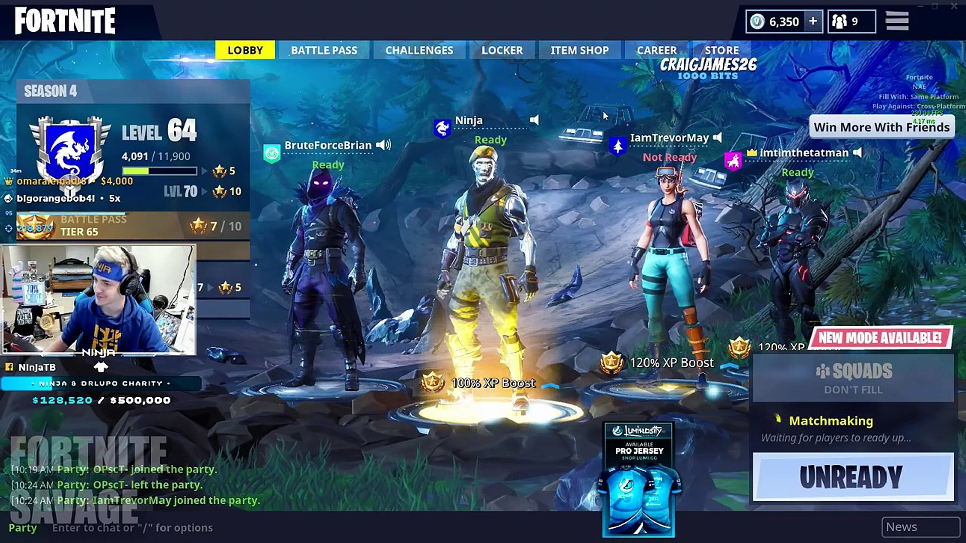 Ninja Disappoints 11 Year Old Kid By Rejecting Friend Request Fortnite Top Twitch Moments Dailymotion Video