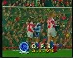 Arsenal - Queens Park Rangers 03-01-1994 Premier League