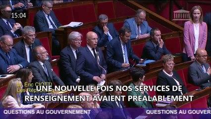 Monsieur le 1er Ministre, nous vous demandons des actes pour mieux protéger les Français du terrorisme.