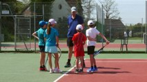 Galaxie tennis - Evaluation sur terrain vert