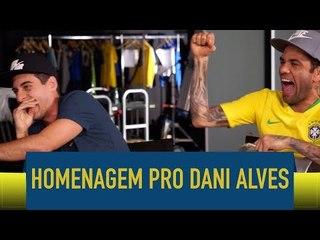 Homenagem pro Daniel Alves - Fabio Brazza