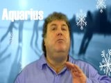 Russell Grant Video Horoscope Aquarius December Thursday 6th