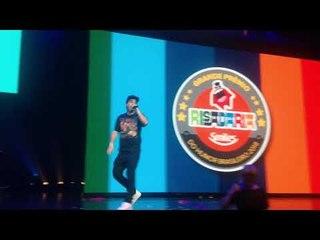 Brazza improvisando no Prêmio Risadaria 2018