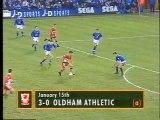 Oldham Athletic - Liverpool 15-01-1994 Premier League
