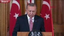 Cumhurbaşkanı Erdoğan İngiltere'de May'le buluştu