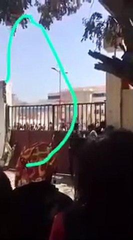 ( Video ) -  Ames Sensible s'abstenir :  Voici comment la voiture de police a heurté l'étudiant Fallou Sène