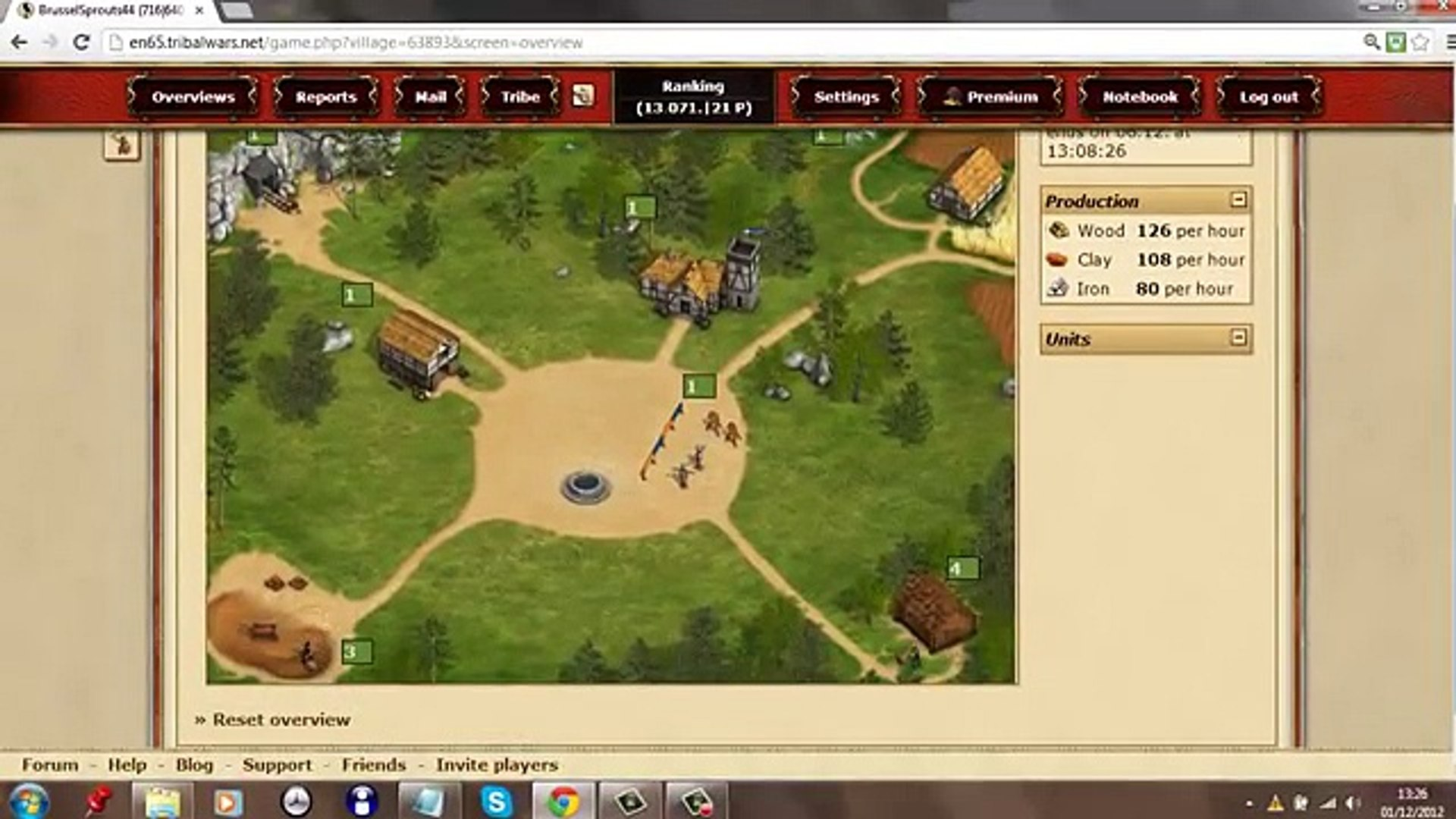Tribal wars How to get off to a good start [1] [Tutorial][Getting started][Read desc][No loot World]