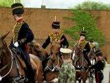 Behind The Scenes At Trooping The Colour With The King's Troop part 1/2