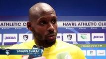 Après HAC - Brest (2-0), réaction de Yohann Thuram