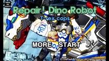 Repair Dino Robot T-REX Cops - Full Game Play - 1080 HD